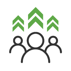 Icon for leadership development